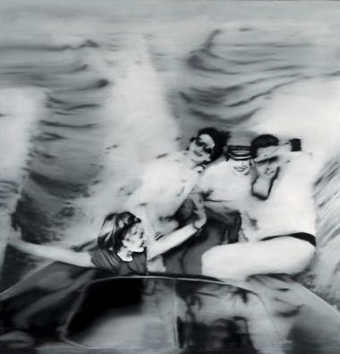 Gerhard Richter - Motorboot 1965